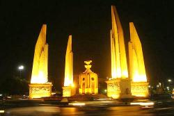 Night view of Democracry Momument