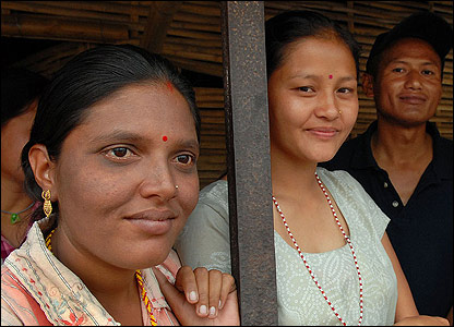 faces of poor women living in the rural area of Himalayan (source:http://news.bbc.co.uk/)