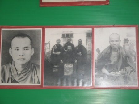 Bu Jing Master,  the fisrt abort of Wat Bhoman in the  late 40