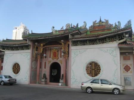 Main entrance of  Wat Bhoman