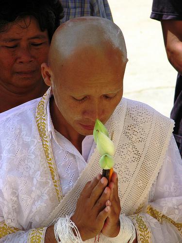 Suwicha Thakor ordained, 11 July  2010 -source: http://www.prachatai.com